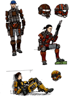 PMC units 2, 4 and 5 by halonut117