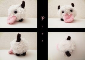 Poro plush by nfasel