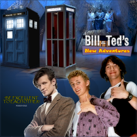 Bill, Ted, and the Doctor by PZNS