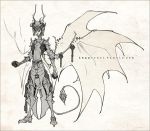 Demons and Other Ilk: Warrior King Asmodeus by dapper-owl