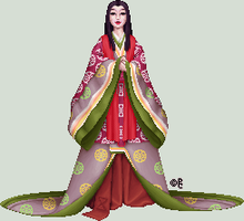 Heian Doll - Gift by isoldel