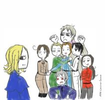 APH Draw the squad 3 by APH-Lovino-sama