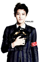 Chanyeol PNG Render by fainleo