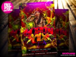 Free Mixtape Cover PSD Template by Industrykidz