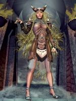 Northern Light : Frigg by Erulian