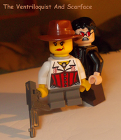 LEGO CUSTOM: THE VENTRILOQUIST by TMNTFAN85