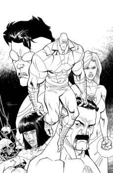 Invincible 134 cover by RyanOttley