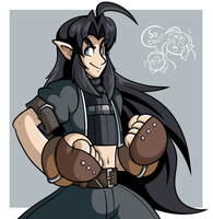 Valfae Art: His fists are property of Sunil by JamesmanTheRegenold