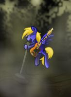 Rockin' out by kittyxboo