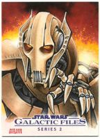 General Grievous Artist Proof Sketch Card by Erik-Maell