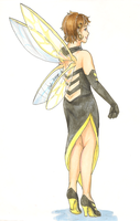 Red Carpet Avengers - Wasp by Sybil-chan