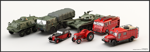 Terrestrial vehicles - 3D Models of 1:43 Replicas by WaskoGM