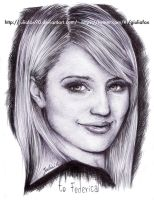 Dianna Agron by JuliaFox90