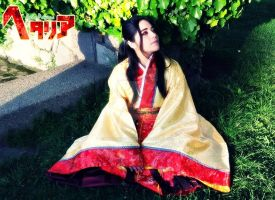 APH: Imperial China cosplay by undercreed-genesis