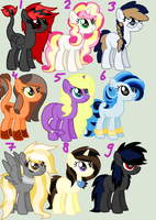 400 Watchers Special ADOPTS ::closed:: by tiffanykip