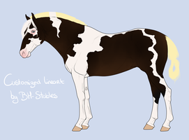 Horse Adoptable #2 - CLOSED by Horse-Emotion