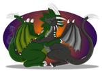 .: Com Bundle Cell Shade : Dragon Huggles :. by AstaAura
