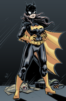 BatGirl Taryn - Commission by EryckWebbGraphics