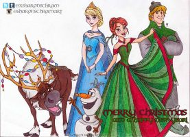 Disney's Frozen Christmas 2 by Sharsel