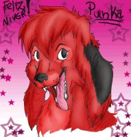 Happy Birthday Punka by IzaPug