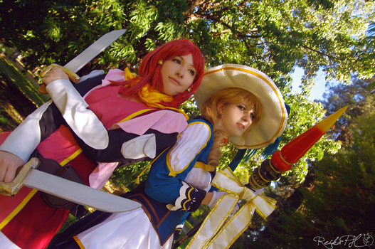 Rose and Alisha - Tales of Zestiria by OrchidOracle