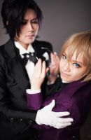 My butler tap dances. Does yours? by gk-reiko