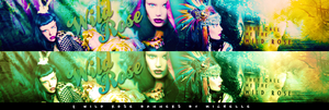 wild rose banners by Miss-Chili