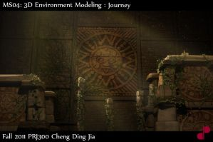 3D Environment shot1 by re45on