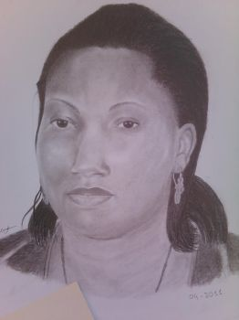 My Mather....'Black Queen' by cardossO