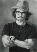 Johnny Depp by javaniles
