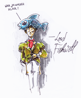 Lord Fishwell by LaughtonMcCry