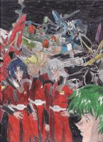 ZAFT Pilots by Johnlennondude