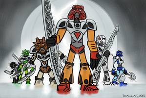 The Toa Nuva by TheOverheatingOrange