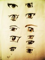 Eyes. by Lareyy