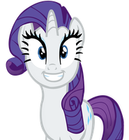 Rarity (No background) by Mr-Rarity