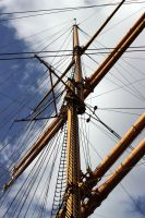 Masts of the Four Masters Passat_ by Fellrakete by Fellrakete
