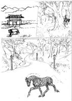 Harusame Meadows Sketches by Murasaki99