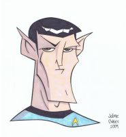 Mr. Spock by tygertailzz