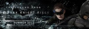 The Dark Knight Rises. Banner by Nikmarvel