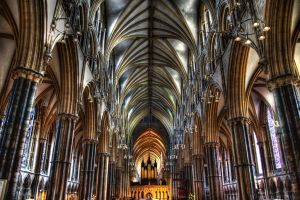 Lincoln Cathedral Interior by nat1874