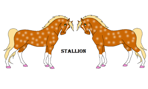 Stallion for Athena by Sannengoat