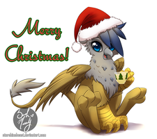 Season's Greetings from Argus (commission) by StarshineBeast