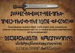 conan the barbarian font by ROSEBONES83