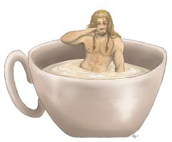 A cup of Fili by AlyTheKitten