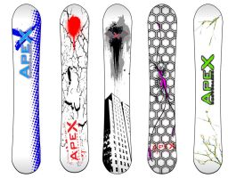 Snowboard Designs by ack99