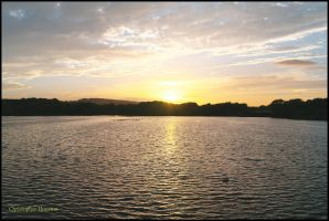 Worsbrough Dam Sunset by squareprismish