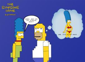 Simpsons game 8-bit by WVS1777