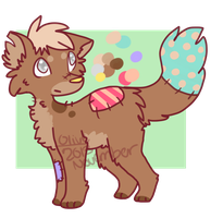 stitched puppy/fox auction! -open- by ghost--scarves
