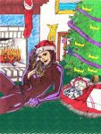 Catwoman Christmas  'Colab' by CDL113