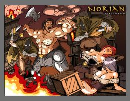 Norian, the Barbarian by firstedition
